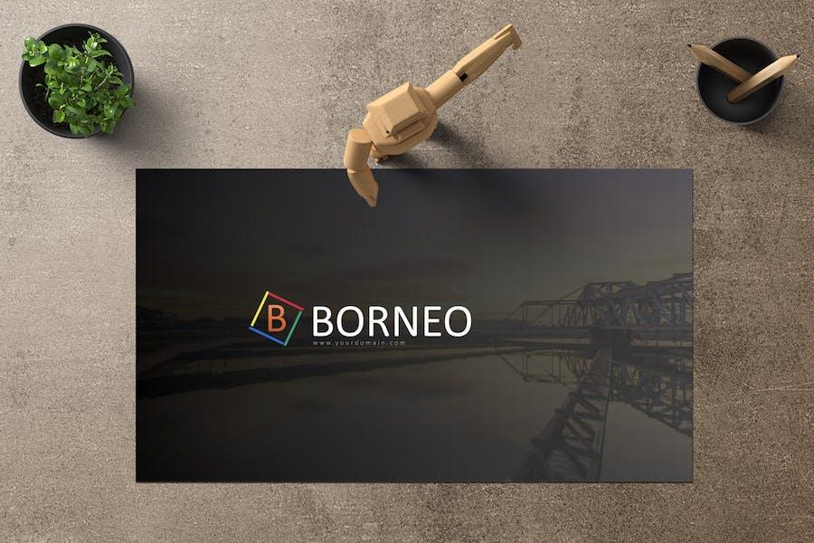 Borneo Google Slides - product preview 1