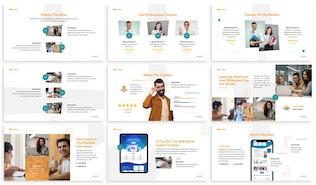 Thumbnail for Onledu - Education Google Slides Template