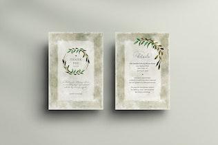 Thumbnail für Hochzeitseinladungs-Set