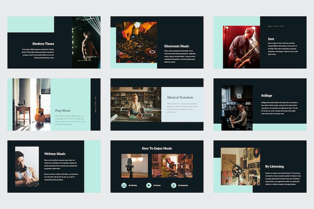 Celoze - Learning About Music Powerpoint - product preview 1