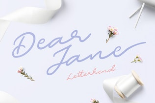 Thumbnail for Dear Jane Script