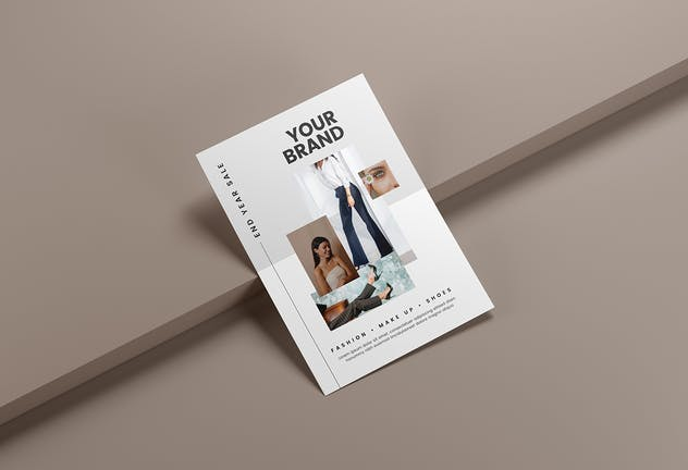 Fashion Sale - Minimal Flyer Media Kit - product preview 2