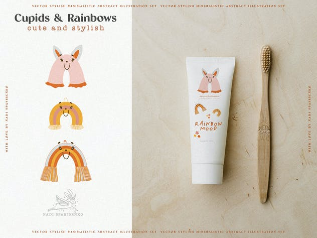 Cupids & Cute Rainbows - product preview 6