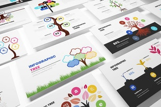 Thumbnail for Tree Infographic Google Sides Template