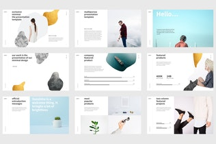 Thumbnail for PATTERN Powerpoint Template