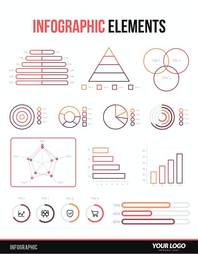 Infographic Examples for Designer V.54
