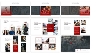 Thumbnail for Libraries - Finance Keynote Template