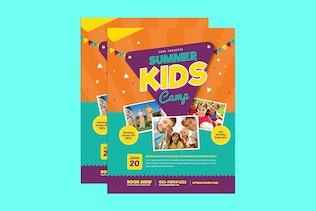 Thumbnail for Summer Kids Camp Flyer