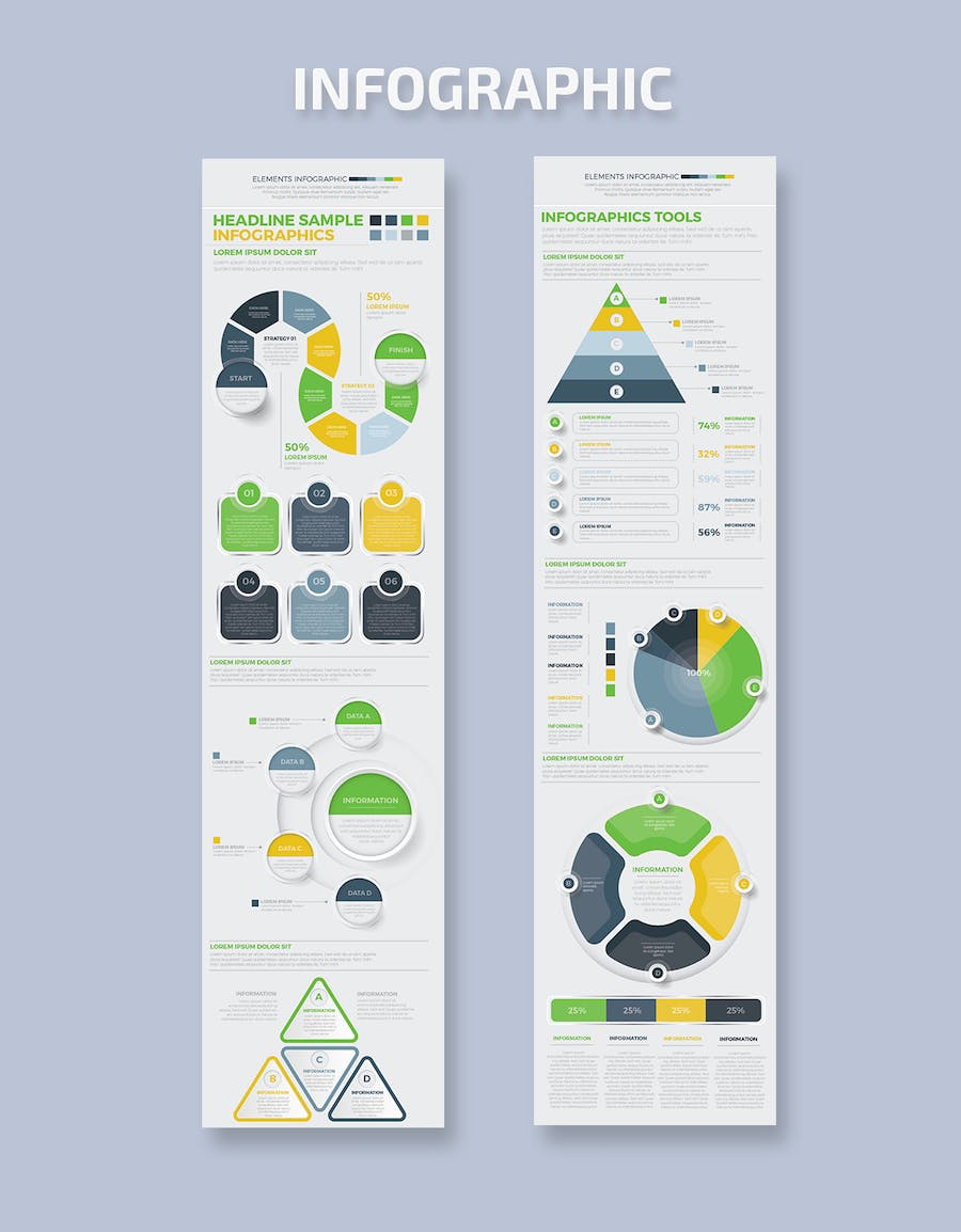 Infographics Template Design - product preview 3