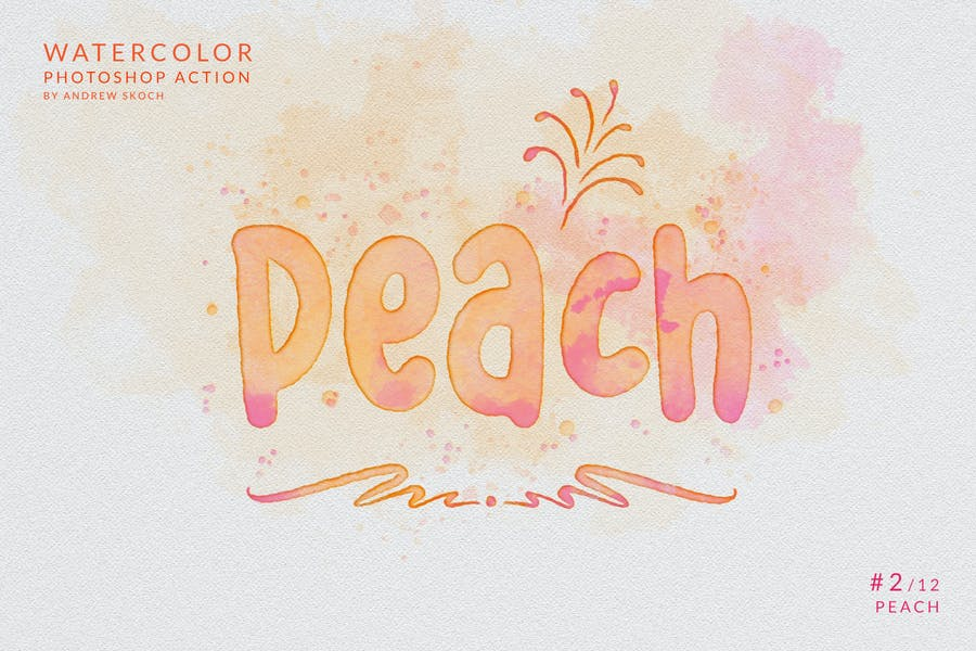Watercolor Painting - Photoshop Action - product preview 5