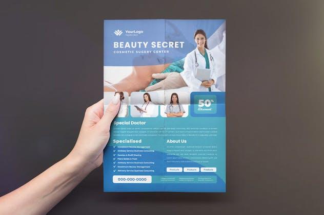 Beauty Wellness Flyer