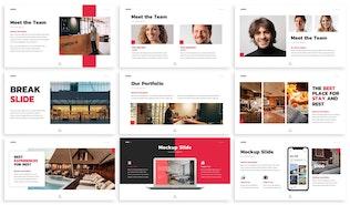 Thumbnail for Hauer - Hospitality Google Slides Template