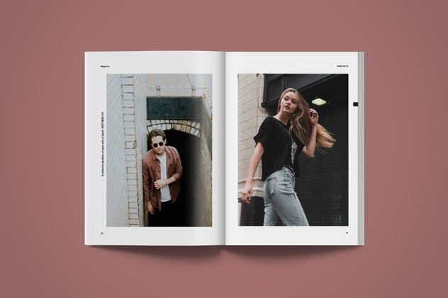 Magazine Template | More - product preview 5