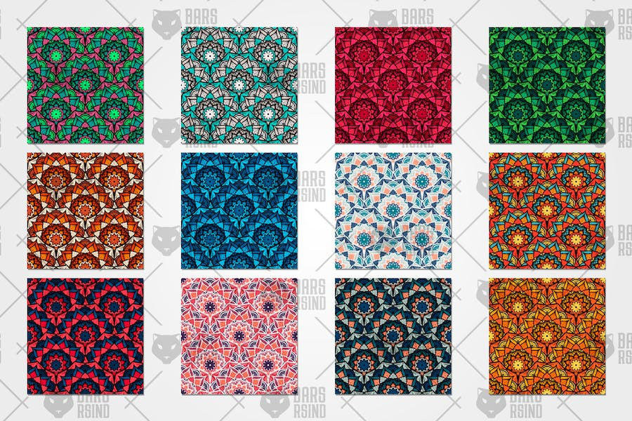Orient Seamless Pattern - product preview 3