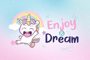 Thumbnail for Cheerful Unicorn