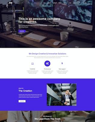 Joy | Creative Agency PSD Template