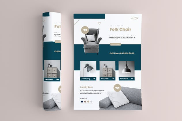 Furniture Flyer - product preview 4