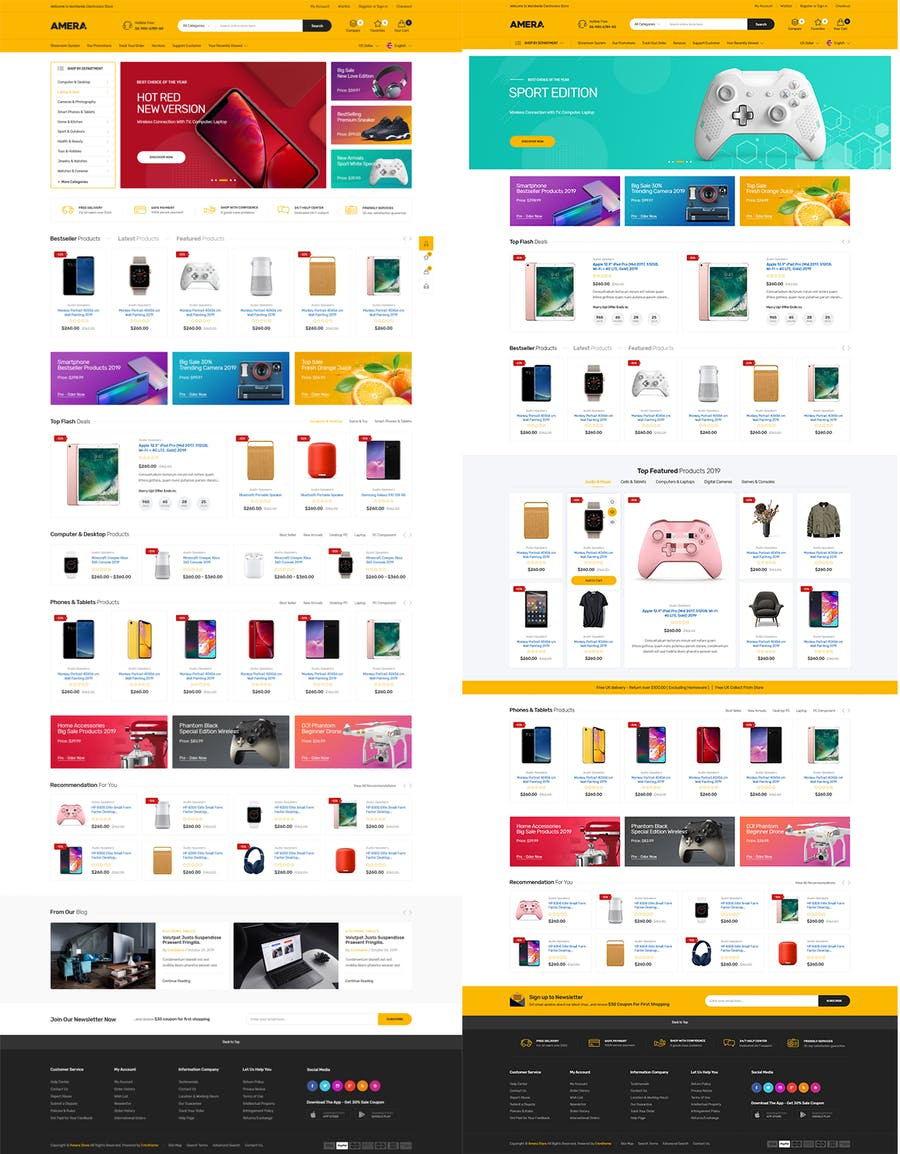 Amera - Responsive Prestashop 1.7 Theme - product preview 2