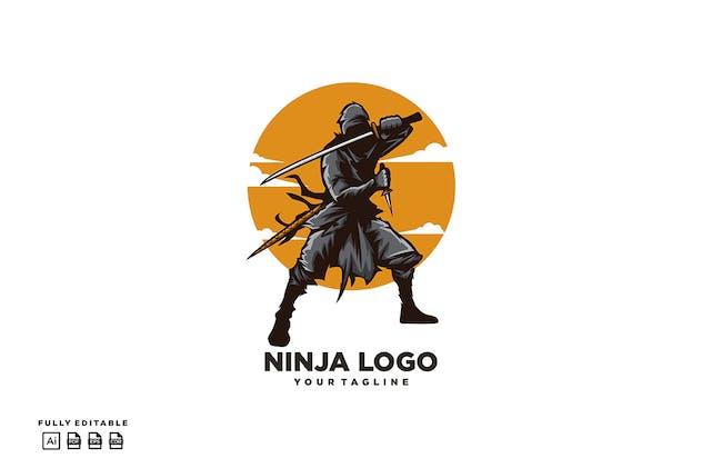 Ninja Katana Logo - product preview 1