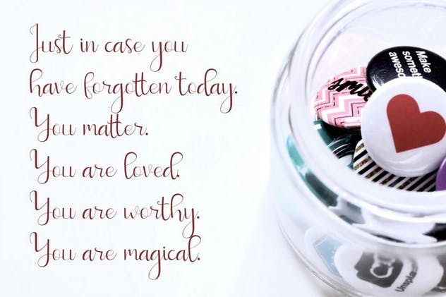 Sweetyhearts - Modern Calligraphy Font - product preview 6