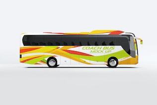 Coach Bus Mock-Up