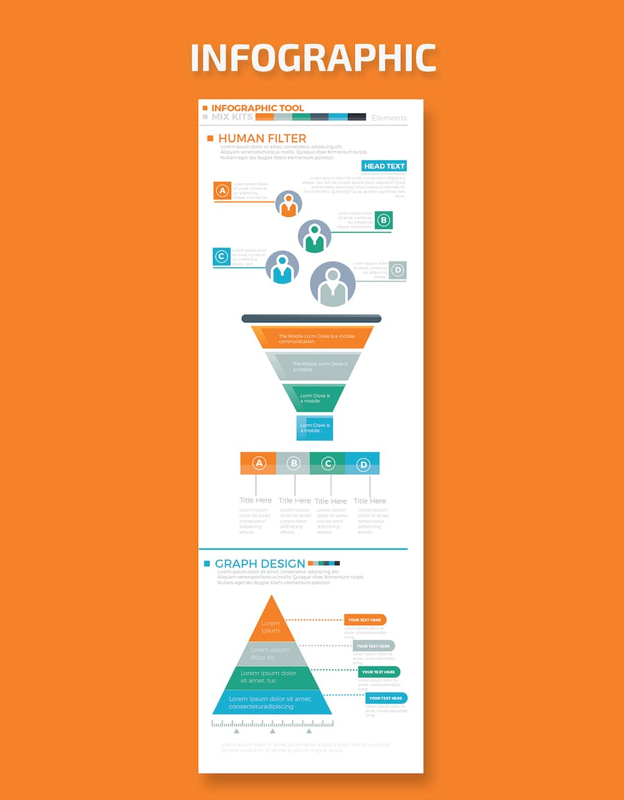 Business Infographics Elements - product preview 4