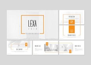 Thumbnail for Lexa - Keynote Template
