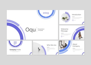Thumbnail for Oqu - Power Point Template
