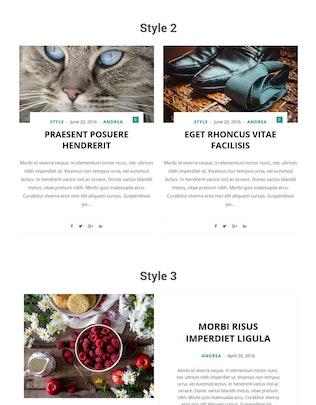 Thumbnail for Blog Layouts for Elementor WordPress Plugin