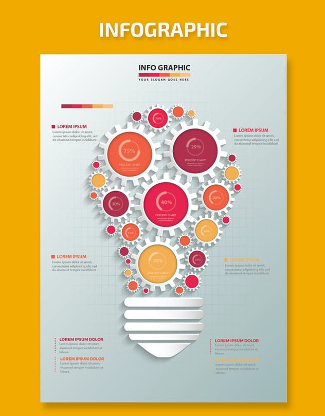 Idea Infographic Design - product preview 2