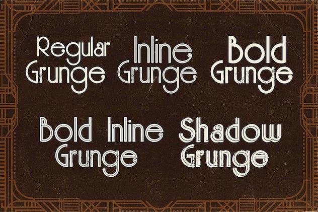 Skywalker - ArtDeco Typeface - product preview 1