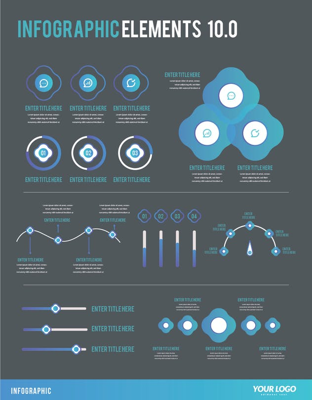Infographic Examples for Designer V.10 - product preview 1