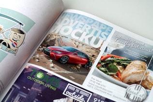 Thumbnail for Magazine Advert Mockups
