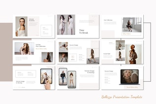 Миниатюра для Belezza - Шаблон Keynote и Instagram