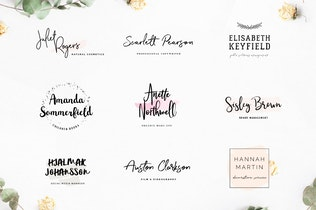 Thumbnail for Typographer's Dream Box + 200 Logos
