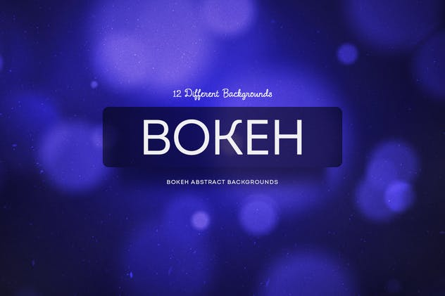 Bokeh Abstract Backgrounds - product preview 1
