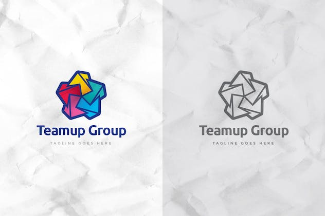 Teamup Logo Template