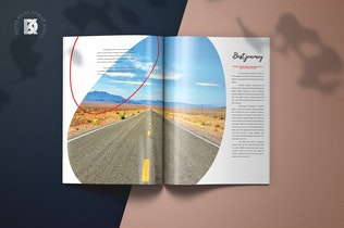 Thumbnail for Magazine Template