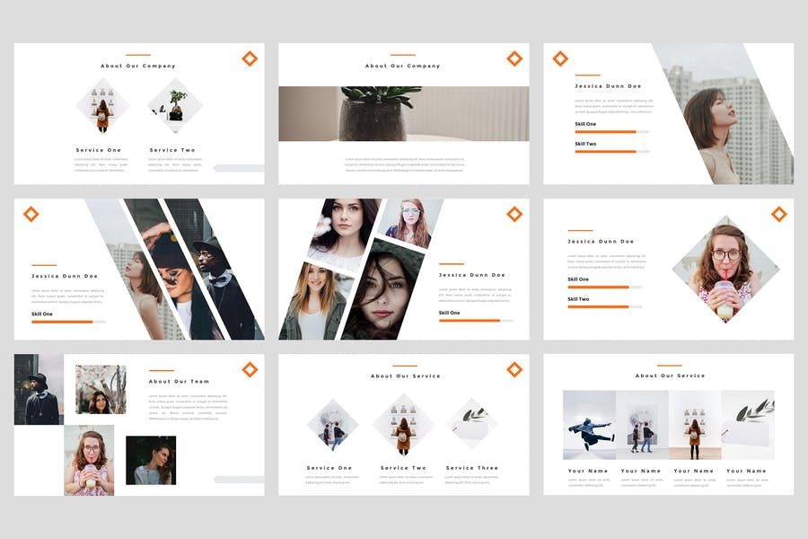 Tele - Creative PowerPoint Template - product preview 2