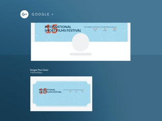 Thumbnail for Film Festival Social Media Pack Template