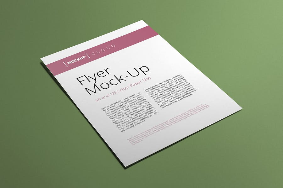 Preview image 2 for Flyer Mockup Set