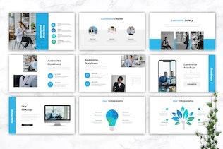 Thumbnail for LUMMINA - Business Keynote Template