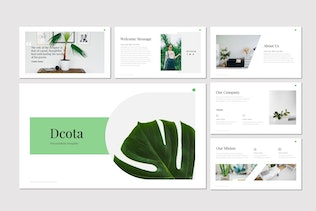 Thumbnail for Dcota - Powerpoint Template