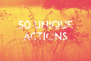 Thumbnail for 50 Duotone Actions