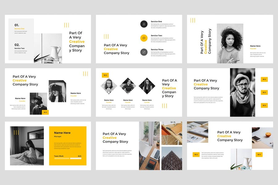 Gesa - Creative Keynote Template