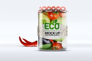 Thumbnail for Glass Jar Mockup