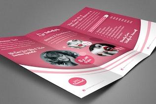 Thumbnail for Beauty Salon Trifold Brochure