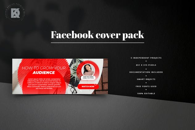 Webinar Facebook Cover Pack - product preview 5