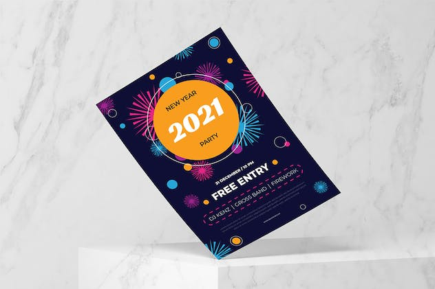 Fireworks 2021 Flyer - product preview 2