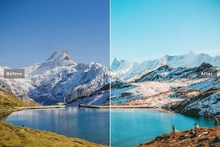 Thumbnail for Grindelwald Mobile & Desktop Lightroom Presets